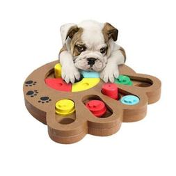 Dog Food Treat Toy, Dispensing Boredom Interactive Game Puzz