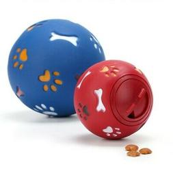 Dog Puzzle Toy Tough-Treat Ball Pet Fun Mental Food Dispense