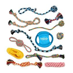 Dog Rope Toys for Aggressive Chewers Puppy Chew Teething Tre