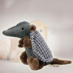 Dog Squeak Plush Toy Chew Toys for Aggressive Chewer Dog Tra