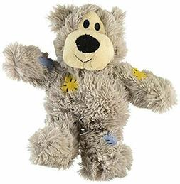 Dog Squeaky Toy Wild Bear Knots Durable Soft Stuffed Pet Pup