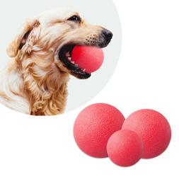 Dog Toy Indestructible Solid Boomer Red Ball Various Size Pe