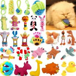 For Dog Toy Play Funny Pet Puppy Chew Squeaker Squeaky Cute