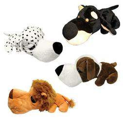 Dog Toy Super Cute Stuffed Plush Poly FatHedz Squeaker Choos