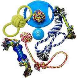 Otterly Pets Dog Toys  - Assorted Tough Ropes and a Single N