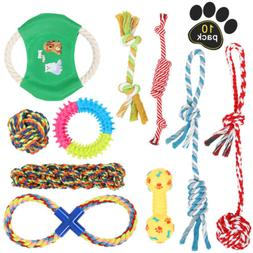 Dog Toys Aggressive Chewers Puppy chew Toys for Dogs Rope Do
