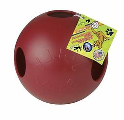 Dog Pet Treat Entertain Toy Chewable Nudge Supplies Rolling
