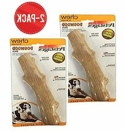 Dogwood Durable Real Wood Dog Chew Toy for Large Dogs, Safe