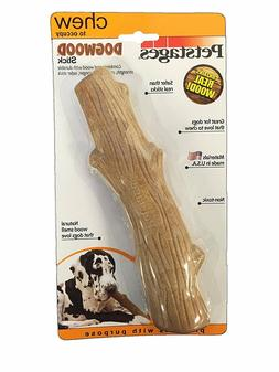 Petstages Dogwood Natural Wood Flavored Dog Chew Toy 4 sizes