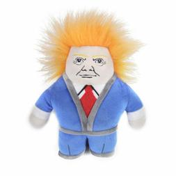 Donald Trump Squeaker Dog toy Dogbite resistance molar toy S