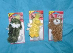 Kong Dr Noys Toy Extra Small Teddy Bear, Duck, Frog Dog Pupp