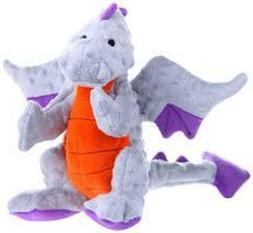 goDog Dragons Grey Large & Small Dog Toy