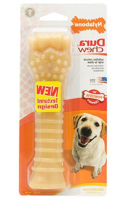 Nylabone DURA CHEW ORIGINAL FLAVOR Dog Chews MADE IN USA 5 S