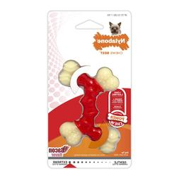 Nylabone Dura Chew Petit Bacon Flavored Double Bone Dog Chew