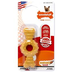 Nylabone Dura Chew Power Chew Textured Ring Bone, Small Dog
