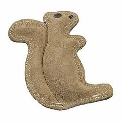 Ethical Pet Dura-Fused 8-Inch Leather Dog Toy, Small, Squirr