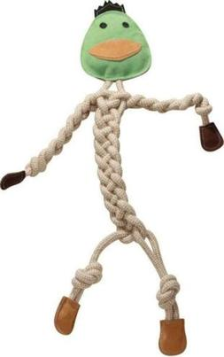 HuggleHounds Durable, All-Natrual Rope Knotties, Dog Toy Reg