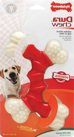 Nylabone DuraChew Double Bone Bacon  Free Shipping