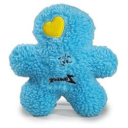 Zanies Embroidered Berber Boy Dog Toys, Blue