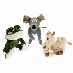 """Multipet Etch a Pet Plush Filled Dog Toy, 9"""" Free Shipping"""