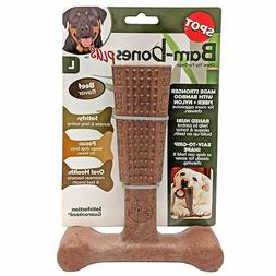 Ethical Pet Bambone Plus Beef Dog Toy  Free Shipping