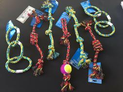 EXTRA LONG Rope Dog Toys Tough Dog Toy Lot Chew for Aggressi