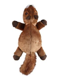 GoDog Flatz Dog Toys, Choose from: Squirrel, Opossum
