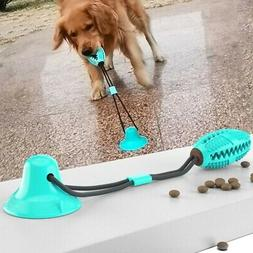 Floor Suction Cup Dog Interactive Toy With Ball Pet Molar Bi