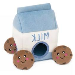 *ZippyPaws Food Buddies Burrow, Interactive Squeaky Hide and