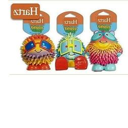 HARTZ FRISKY FROLIC LATEX SQUEAKABLE DOG TOY SET OF 3
