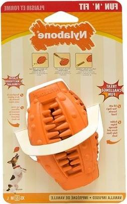 Nylabone Fun'N'Fit Vanilla Infused Small Dog Treat Toy