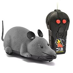 EocuSun Funny Electric Remote Control Mouse Rat Toy Pet Cat