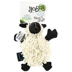goDog Fuzzy Wuzzy with Chew Guard Small, Lamb