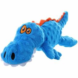 goDog Gators with Chew Guard Technology Tough Plush Dog Toy