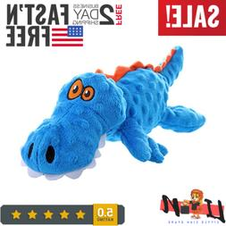 gators with guard technology tough plush dog