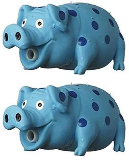 MultiPet Goblets Pig latex Dog toy Assorted Colors Size:Pack