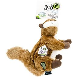 GoDog Chipmunk with Chew Guard Technology Dog Toy LARGE