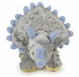 goDog Dinos Triceratops With Chew Guard Technology Tough Plu
