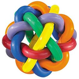 Hard Rubber Dog Toy Knobbly Wobbly Small 3 Inch Tough Chew T