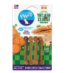 Nylabone Healthy Edibles Puppy Chew Treats, Turkey & Sweet P