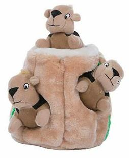 Outward Hound Hide A Squirrel Dog Toy Plush Dog Squeaky Toy