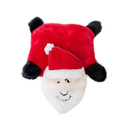 ZippyPaws Holiday Squeakie Pad Santa - Squeaky No Stuffing P
