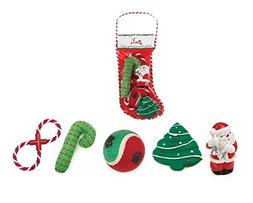 Holiday Stockings Gift for Dogs Christmas Theme Dog Toy Stoc