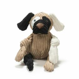 Hugglehounds Hugglemutt  Knottie  PATCHES Squeaker Dog Toy L