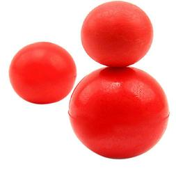 Indestructible Solid Rubber Ball Pet cat Dog Training Chew P