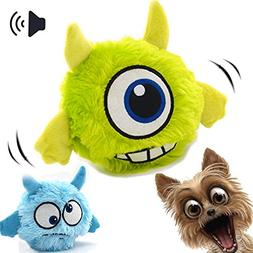 interactive dog toy plush squeaky
