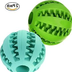 Aidle Interactive Dog Toys,Toy IQ Ball Non-Toxic Dog Chew To