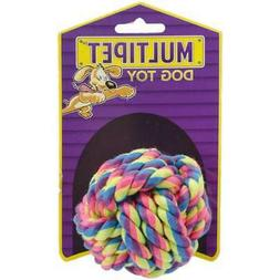 MULTIPET INTERNATIONAL 843379 Nuts Cotton Ball for Small Kno