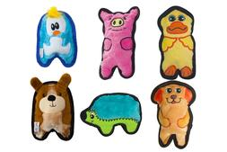 Outward Hound Invincibles Minis Dog Toy Pig, Dog, Duck,