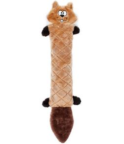 ZippyPaws - Jigglerz Tough No Stuffing Squeaky Plush Dog Toy